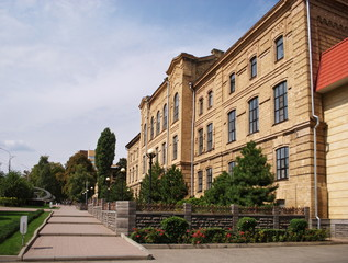 Здание аграрного университета в Ставрополе