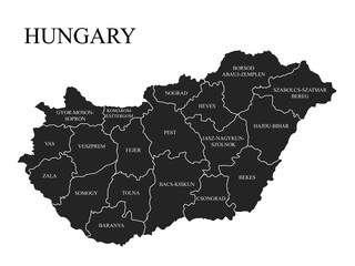 Administrative division of Hungary