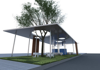 Eco Architecture Rendering