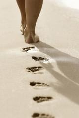 Fußspuren