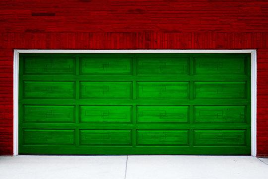 Holiday Garage Door