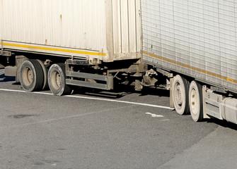 heavy truck trailer