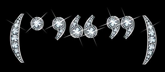 Diamond Bling Punctuation