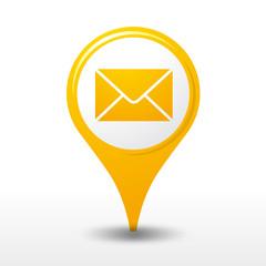 icône poste, logo boite aux lettres