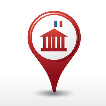 icône mairie, logo mairie