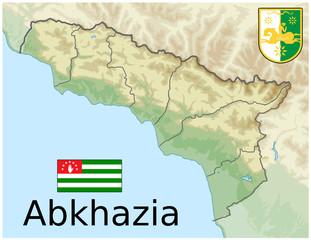 Cerca Immagini Da Juanmm - Abkhazia map