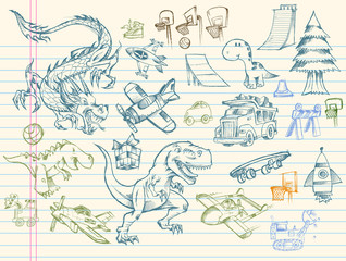Sketch Doodle Mega Vector Set