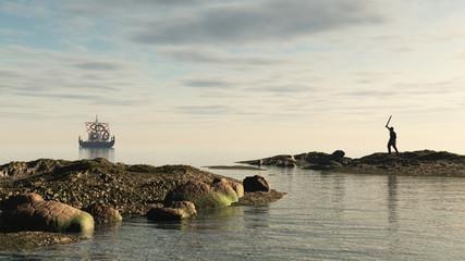 Viking Longship Homecoming
