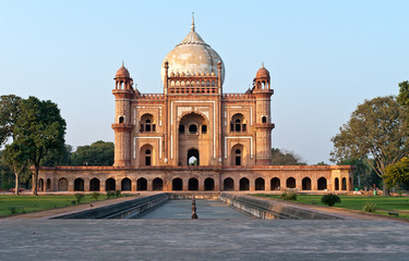 Photo sur Plexiglas Delhi Safdarjung's; Tomb in Delhi, India