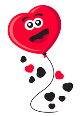 illustration of valentine theme