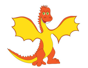Dragon orang