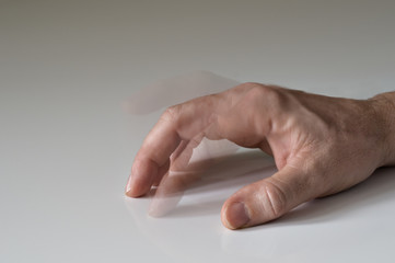 Tapping finger