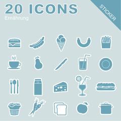 20 Icons Ernährung