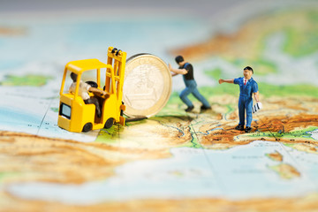Stützung des Euro