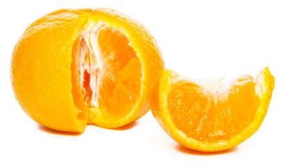 Poster Plakjes fruit Mandarine