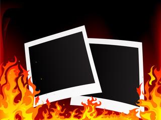 Fototapete - Photo frames