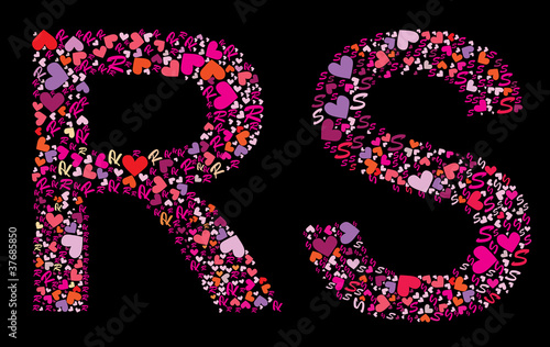 a Alphabet Wallpaper in Heart images  Hdimagelib