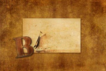 B is for Boat