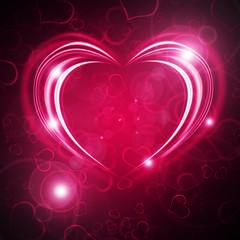 glowing Valentine bachround