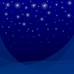 Vector  abstract star background