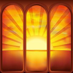 Sun in the window