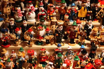 Wooden christmas figures
