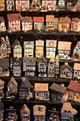 German Christmas houses