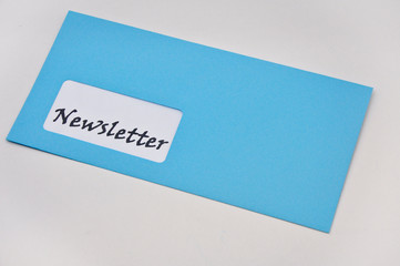 newsletter im Briefumschlag