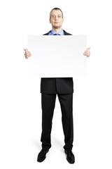 business man sheet