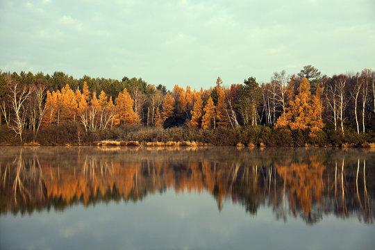 Fall in Tomahawk, Wisconsin