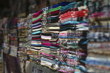 selection of textiles on the market