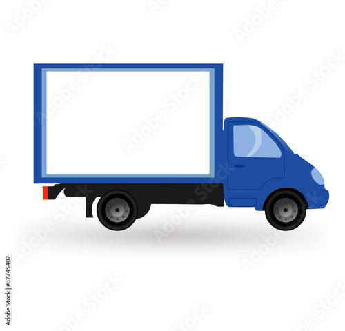 camion de livraison fichier vectoriel libre de droits sur la banque d 39 images. Black Bedroom Furniture Sets. Home Design Ideas