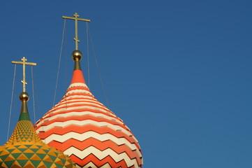 Fototapete - St Basilius Kirchturm