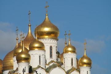 Fototapete - Goldene Kuppeln im Kreml