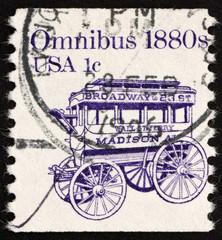 Postage stamp USA 1983 Omnibus
