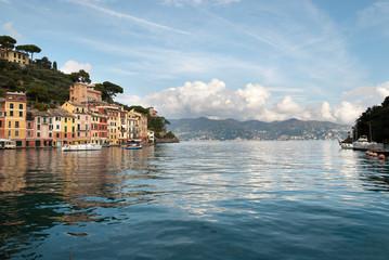 uscita del porticciolo di Portofino in Italia