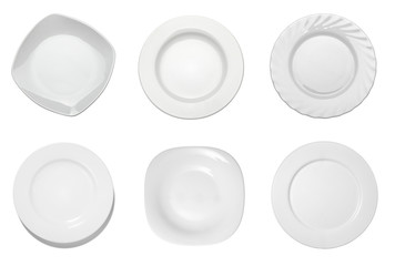 empty white plate kitchen restaurant food