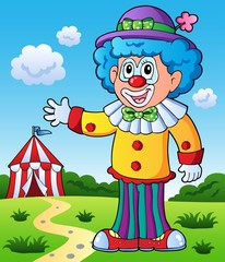 Clown theme picture 9