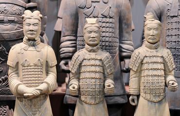 Photo sur Plexiglas Xian Terracotta warriors (Xian, China)