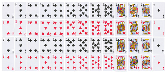 Deck of cards full resolution