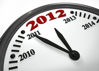 new year time 2012