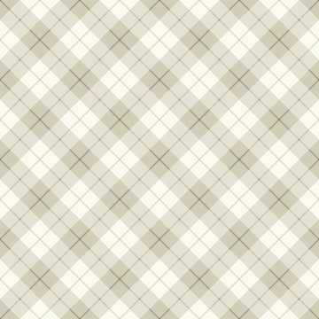 Abstract diagonal scottish plaid
