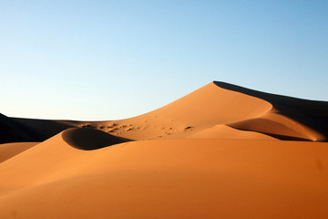 In de dag Marokko Merzouga desert - Marocco