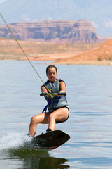 Hirl Wakeboarder at Lake Powell