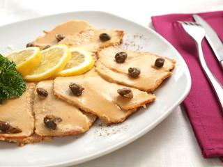 Vitello tonnato - veal with tuna sauce