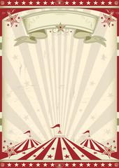 Fond de hotte en verre imprimé Affiche vintage vintage circus
