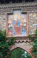 Historical picture. Grazzano Visconti. Emilia-Romagna. Italy.