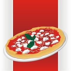 insegna pizzeria - pizza label