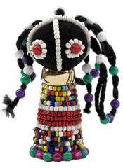 African bead figurine