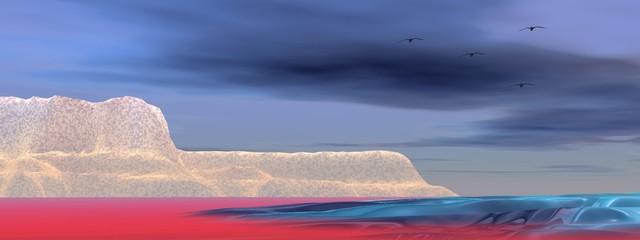 landscape iceberg